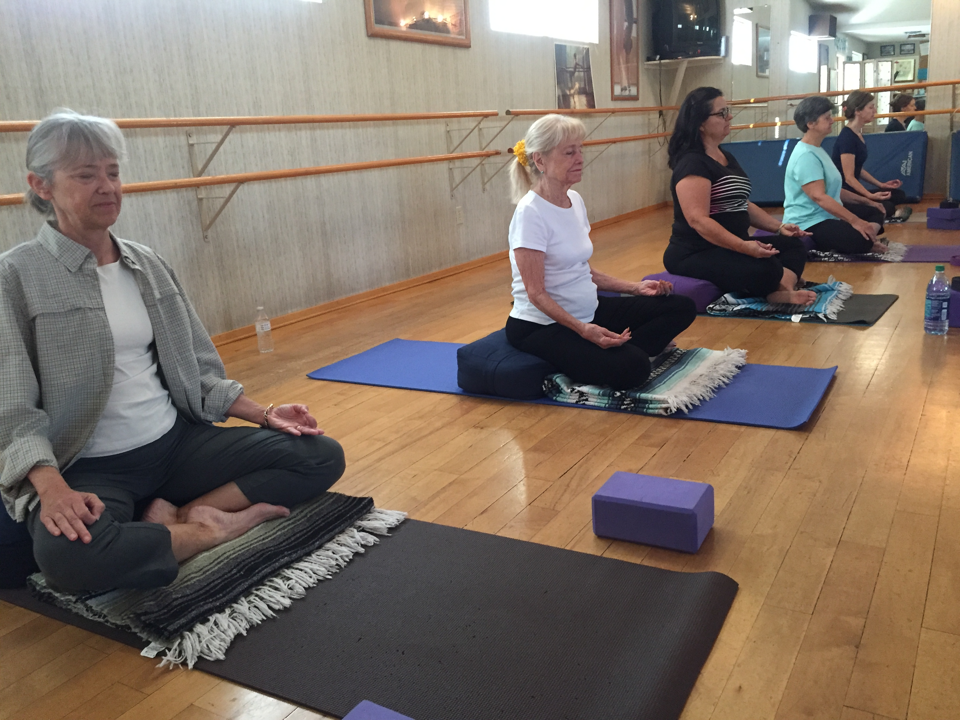 Yoga Meditation connecting mind, body and breath to reduce stress and find peace.